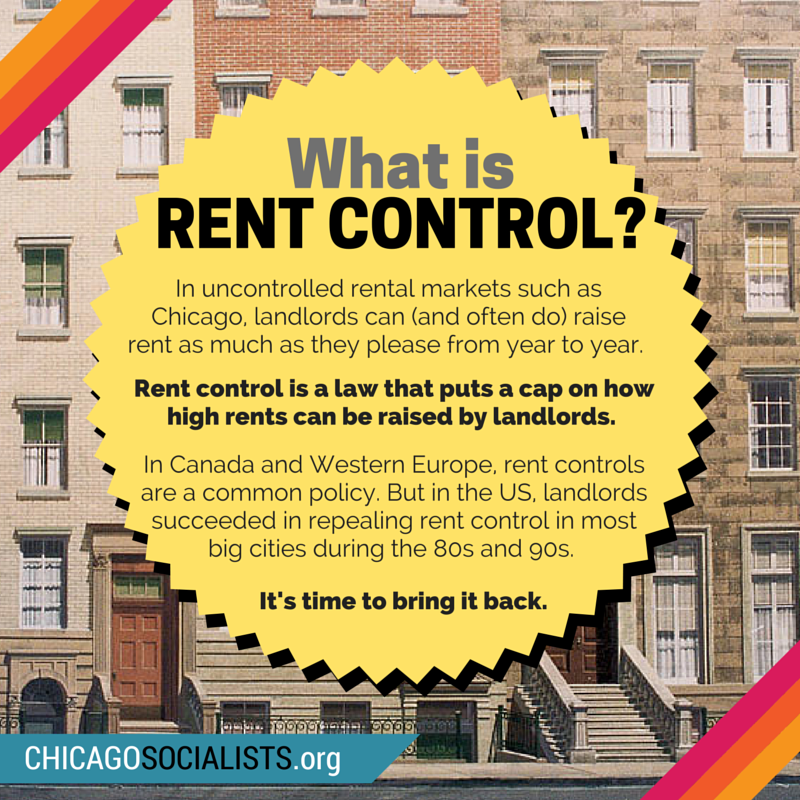 What is RENT CONTROL-