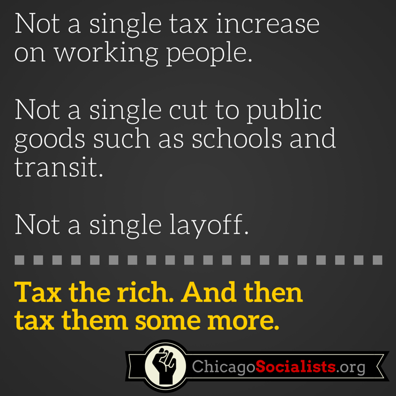 Not a single tax increase on working people. (1)